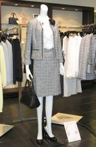 ツイードのスーツ2