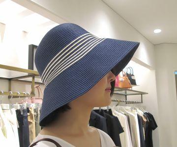 ナチュラルタイプの帽子