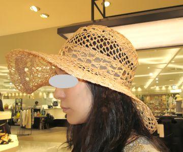 ロマンスタイプの帽子